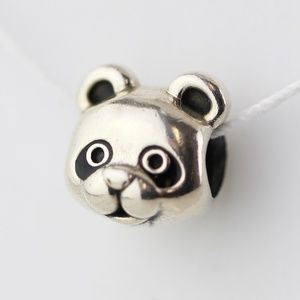 PANDORA Peaceful Panda, Black Enamel